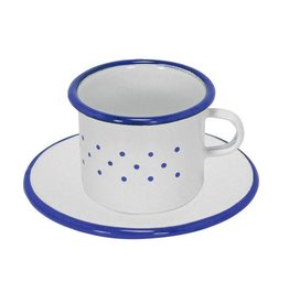 Gluckskafer Cup and saucer