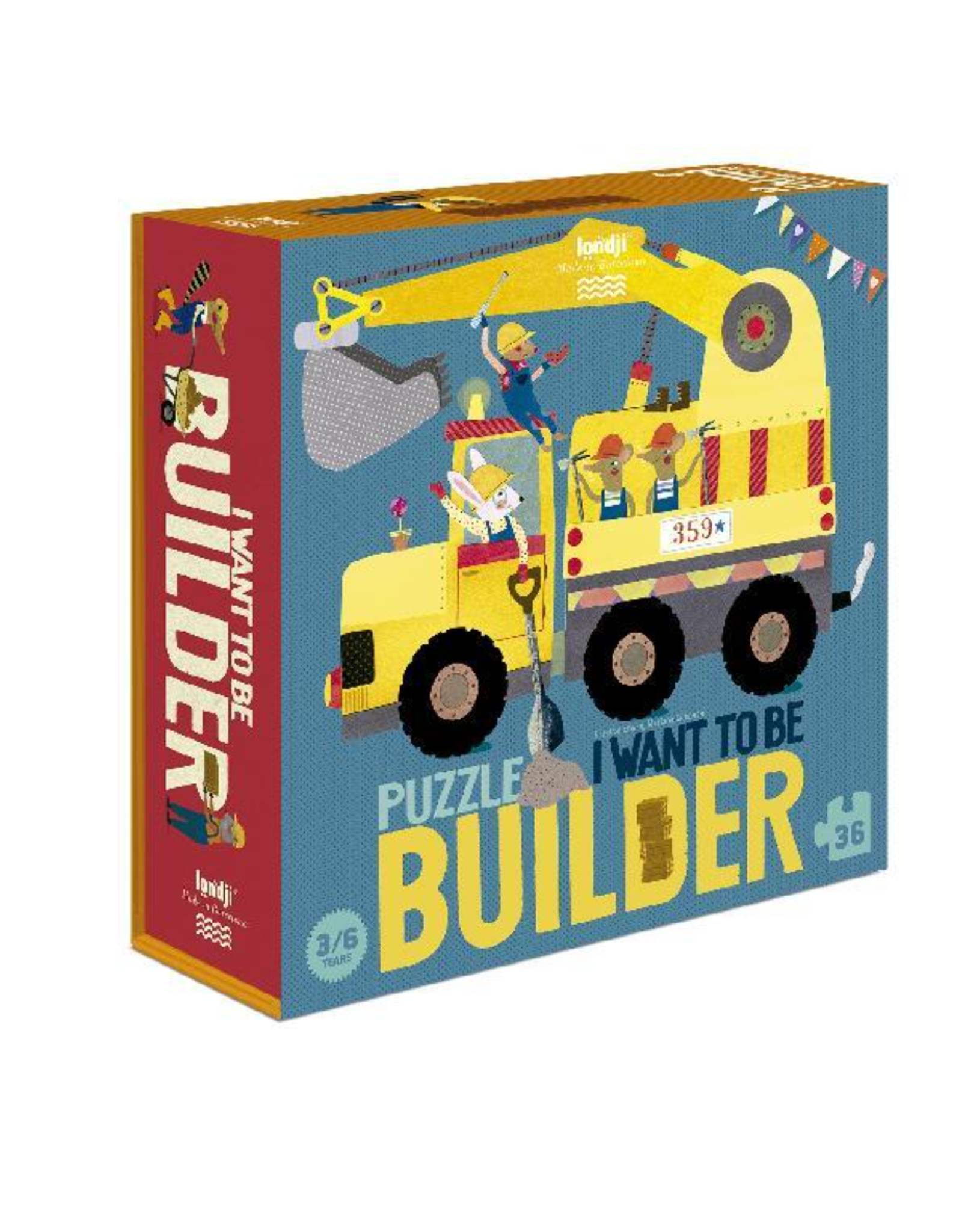 Londji I want to be Builder Puzzle