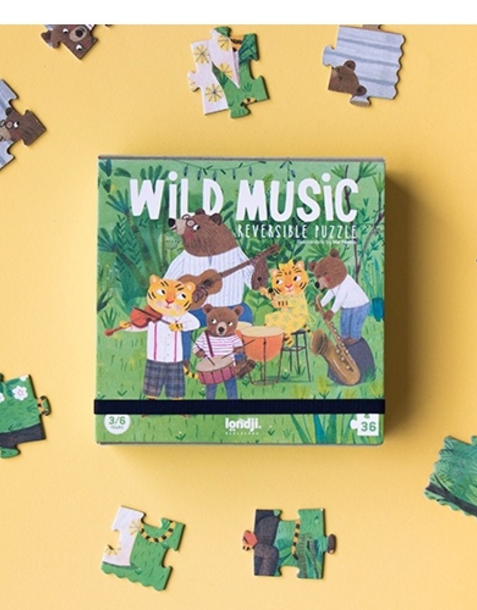Londji Wild Music Puzzle