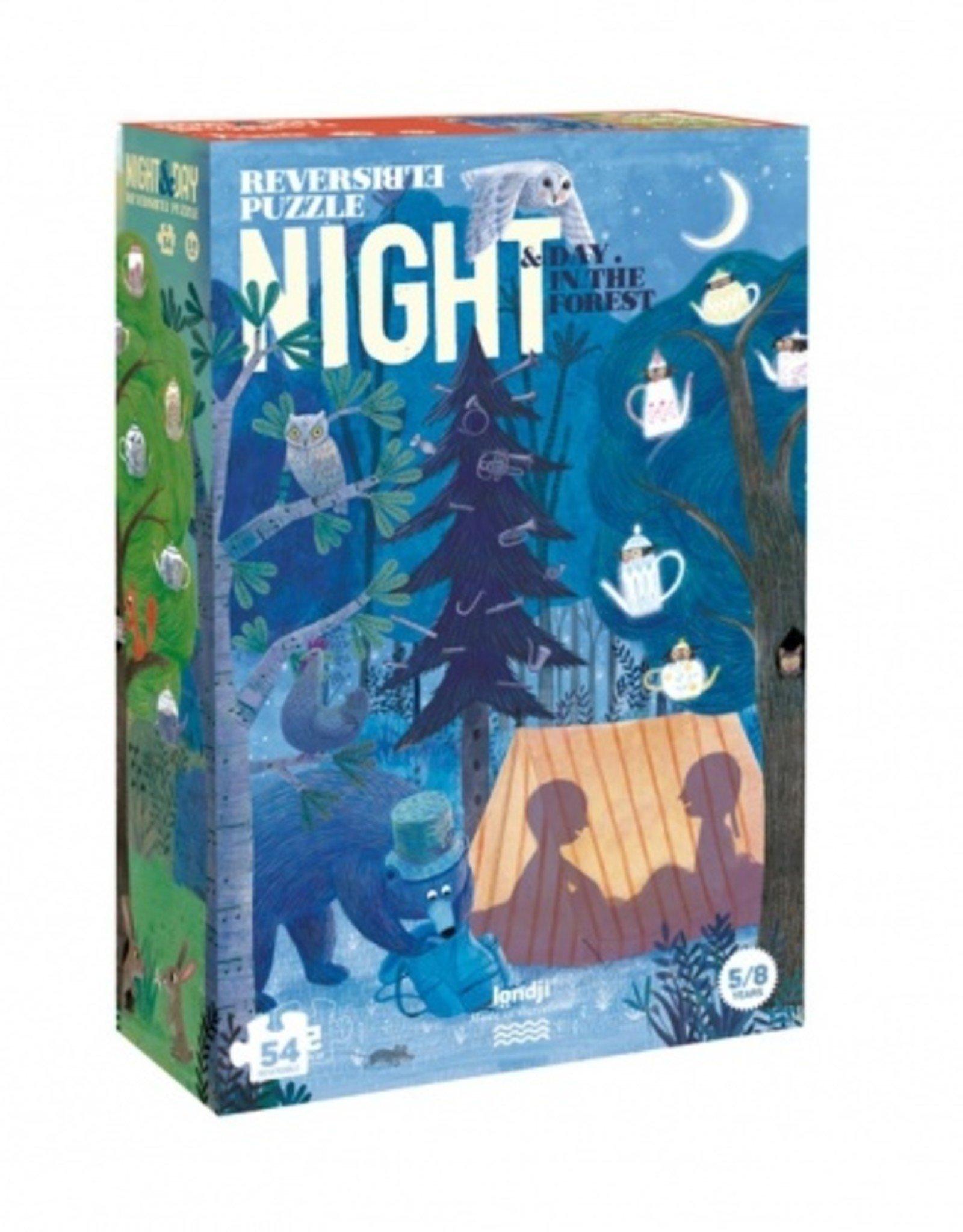 Londji Puzzle Night and day