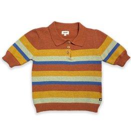 Oeuf Striped Polo