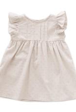 Oeuf Ruffle Swiss Dots Dress