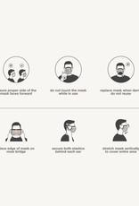 Evolvetogether Set of 30 adult face masks