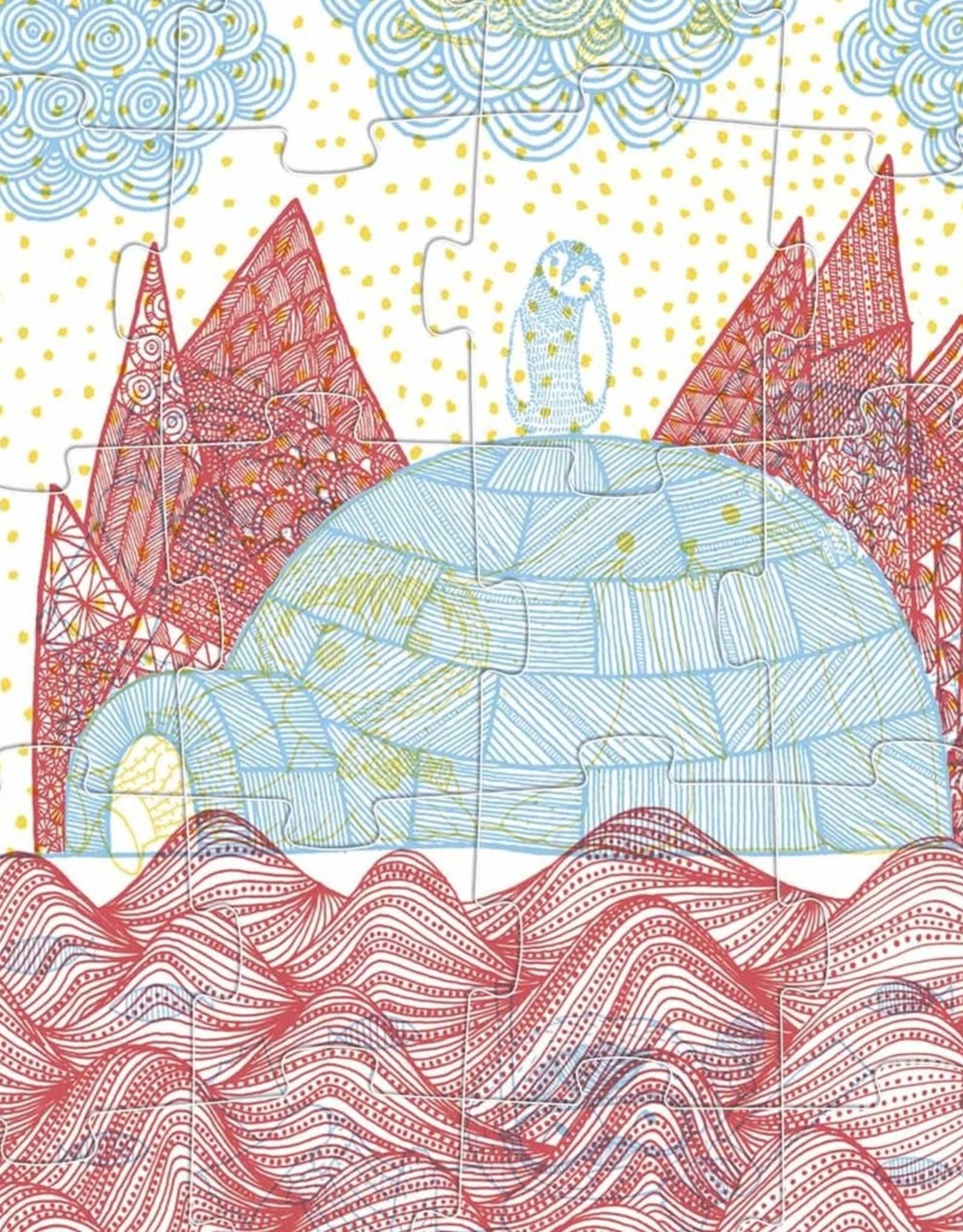 Londji Casse-têtes progressifs Dans l'igloo