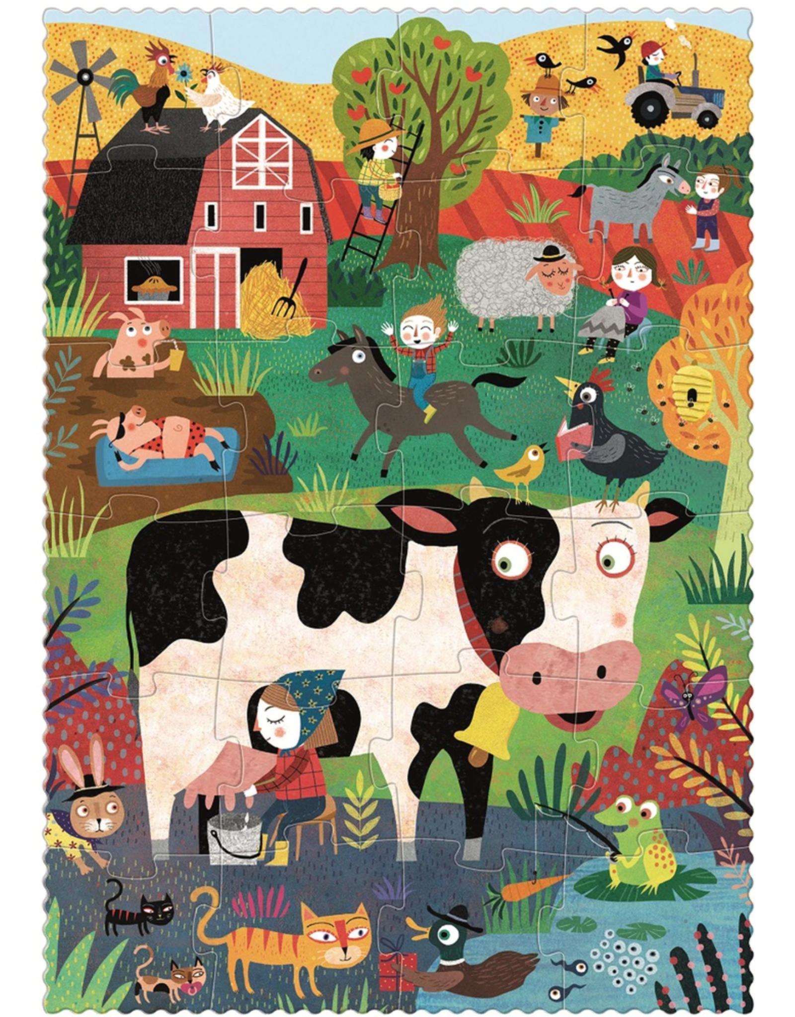 Londji Londji Pocket Puzzle - My Little Farm