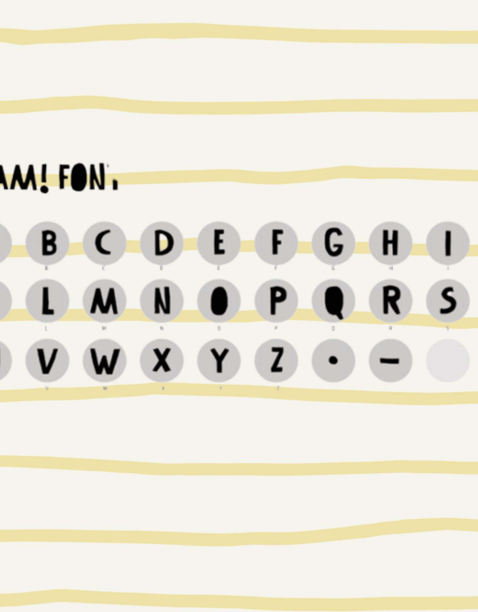 Londji BAM étampes - Créez des mots