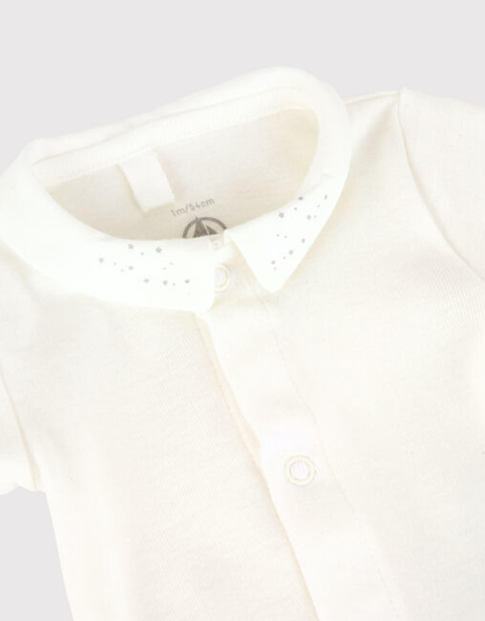 Petit Bateau Bodysuit with collar