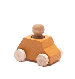 Lubulona Ochre Wooden Toy Car