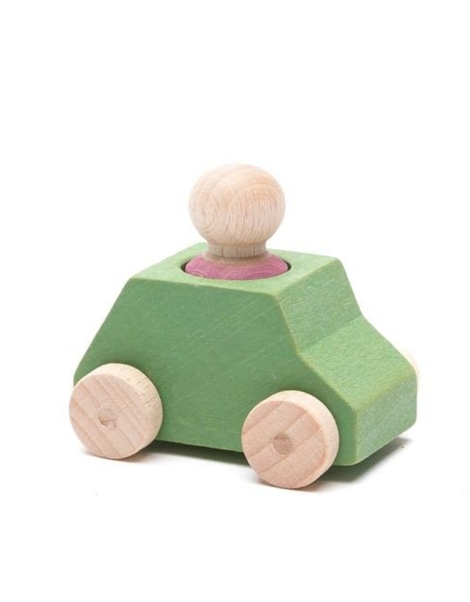 Lubulona  Mint Wooden Toy Car