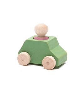 Lubulona Mint Wooden Toy Car