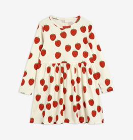 Mini Rodini Strawberry Long Sleeve Dress
