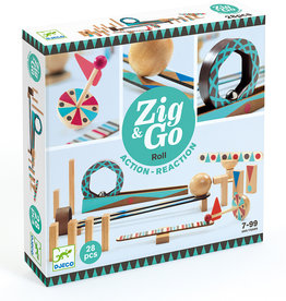 Djeco Parcours de dominos Zig & Go Roll