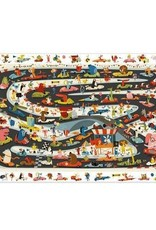 Djeco Observations Puzzle  - Car Rally