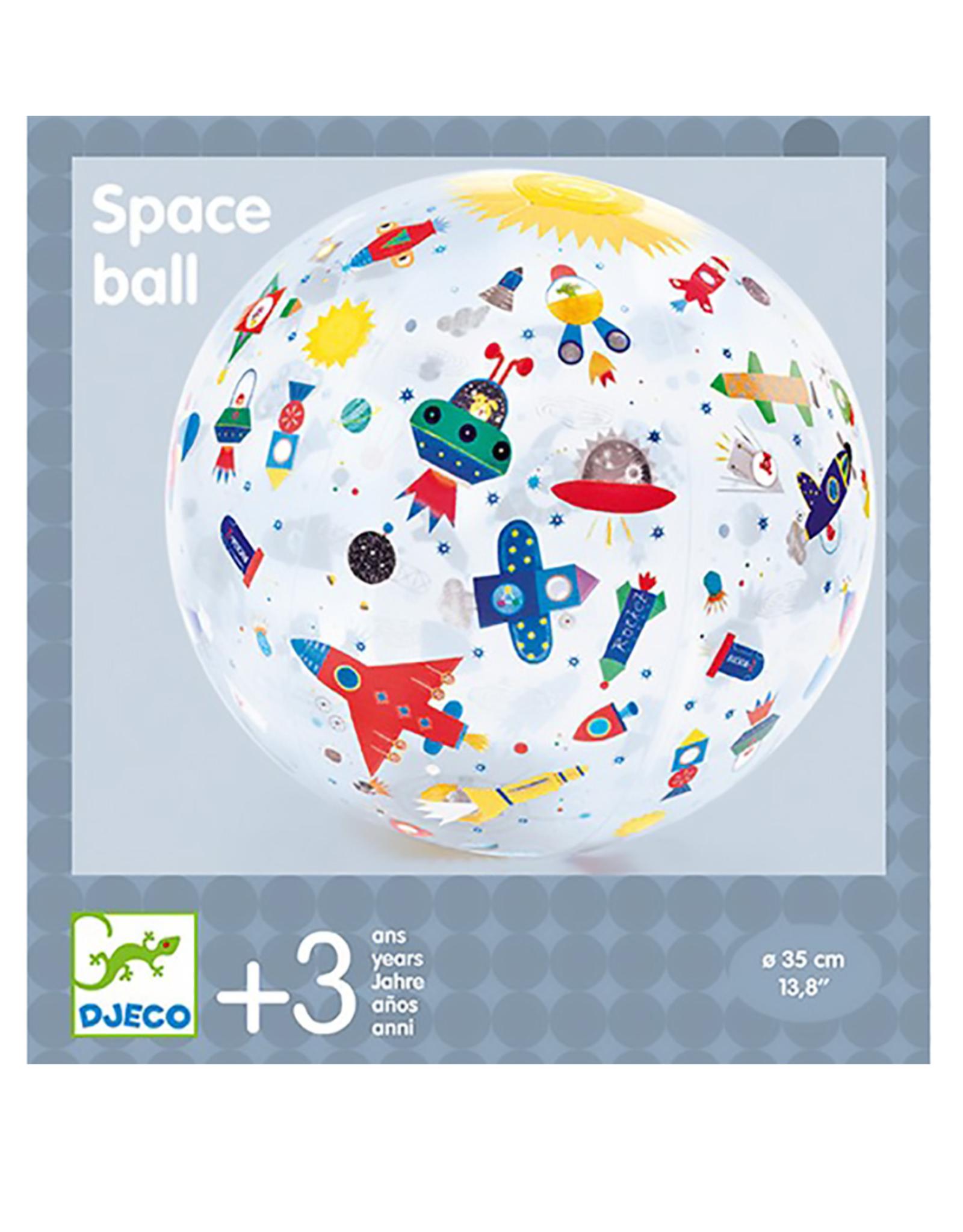 Djeco Ballon de plage – Space Ball