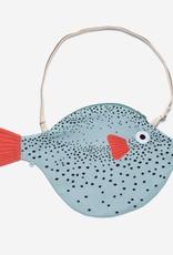 Don Fisher Big Aqua Pufferfish Bag