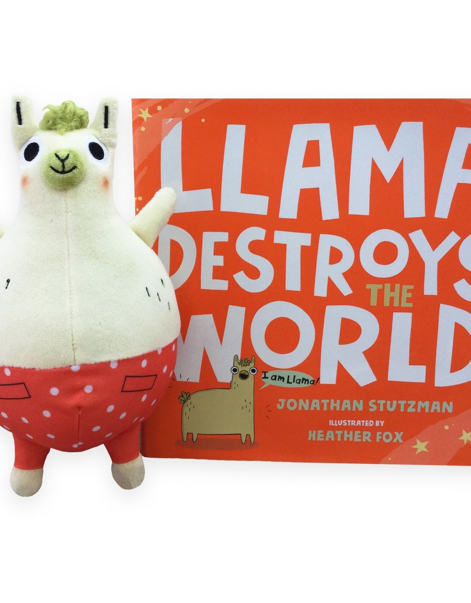 MerryMakers Llama Destroys the World - Book and Doll