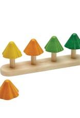 Plan Toys Sapins à Trier et Compter