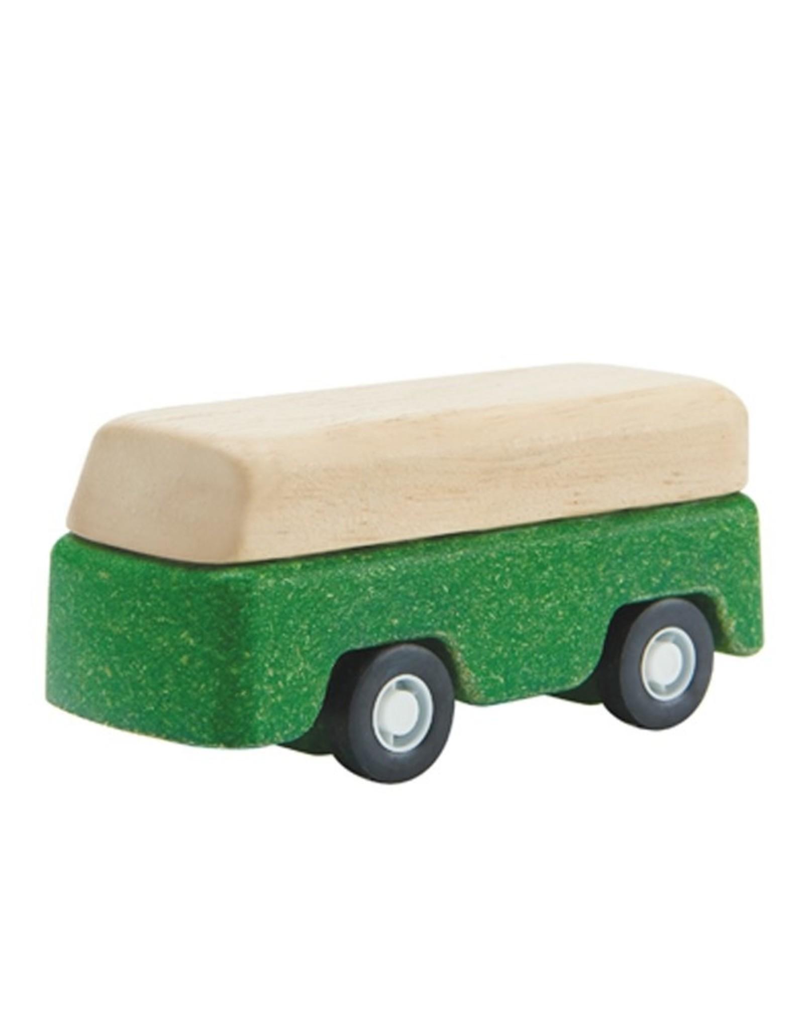 Plan Toys Green Bus