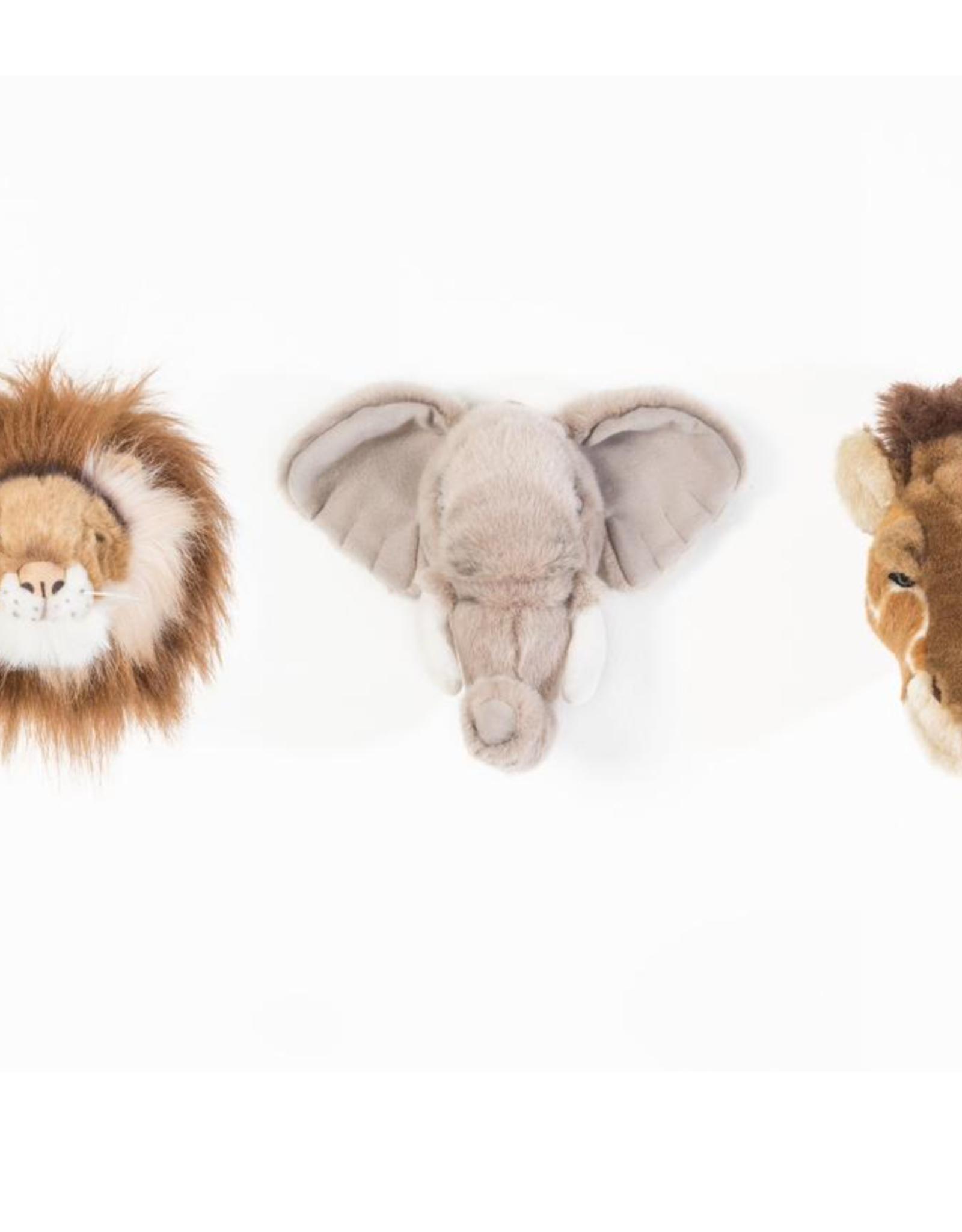 Wild and Soft Coffret 3 têtes d'animaux de la jungle