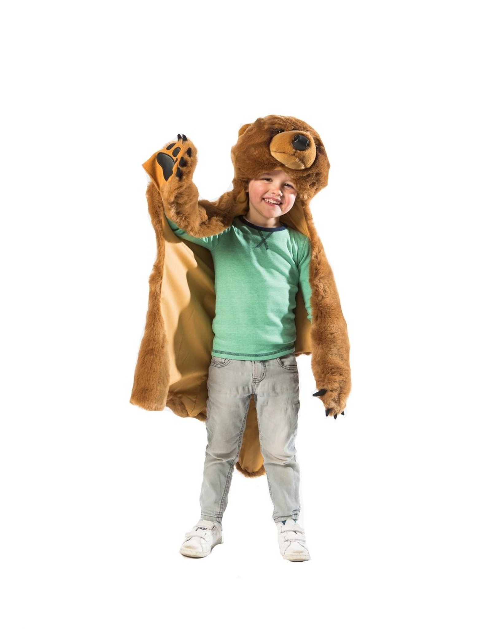 Wild and Soft Brown Bear Disguise