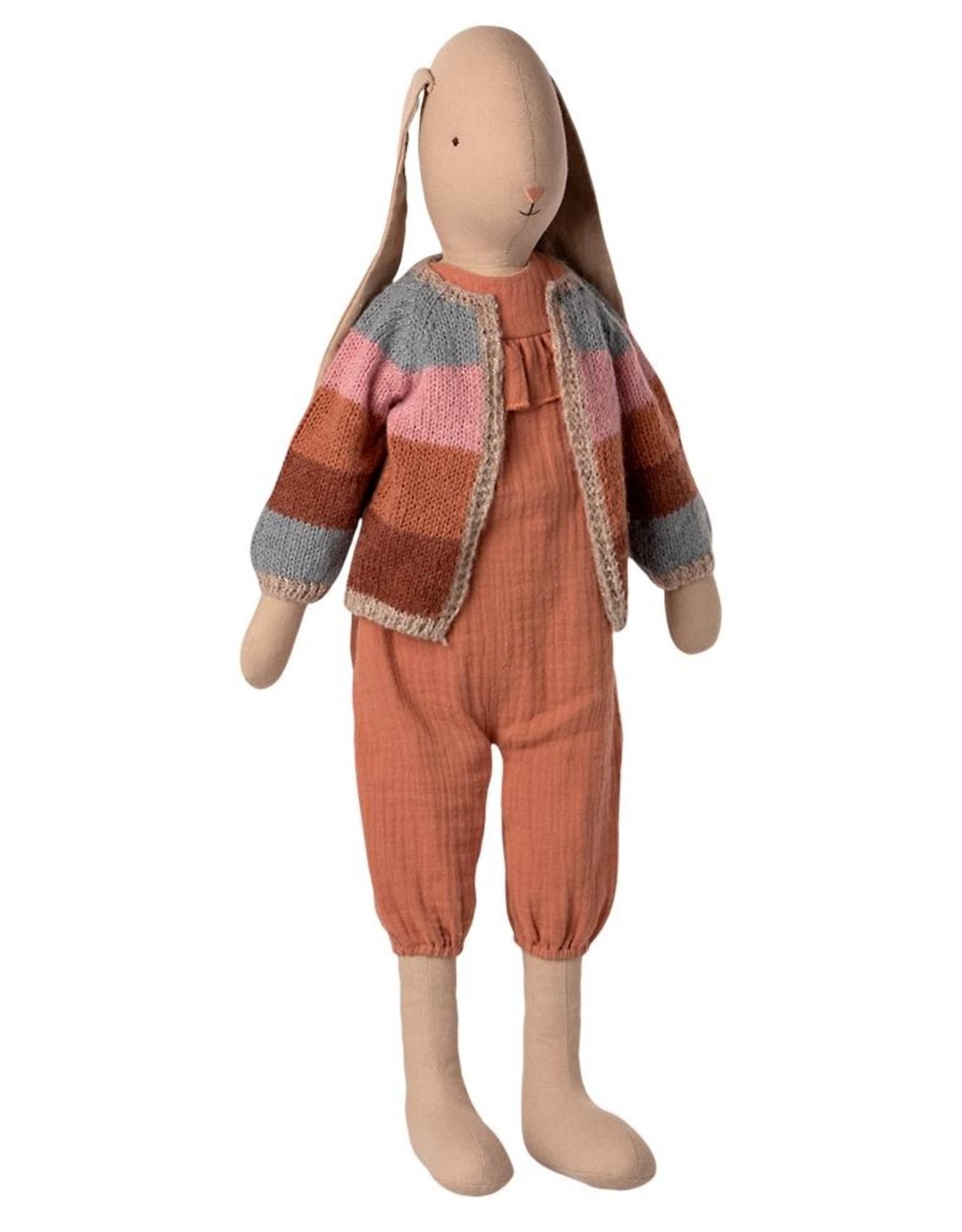 Maileg Lapin à cardigan en tricot
