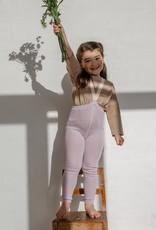 Silly Silas Collant Rétro côtelé sans pieds avec bretelles