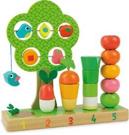 Vilac J'apprends à compter les légumes