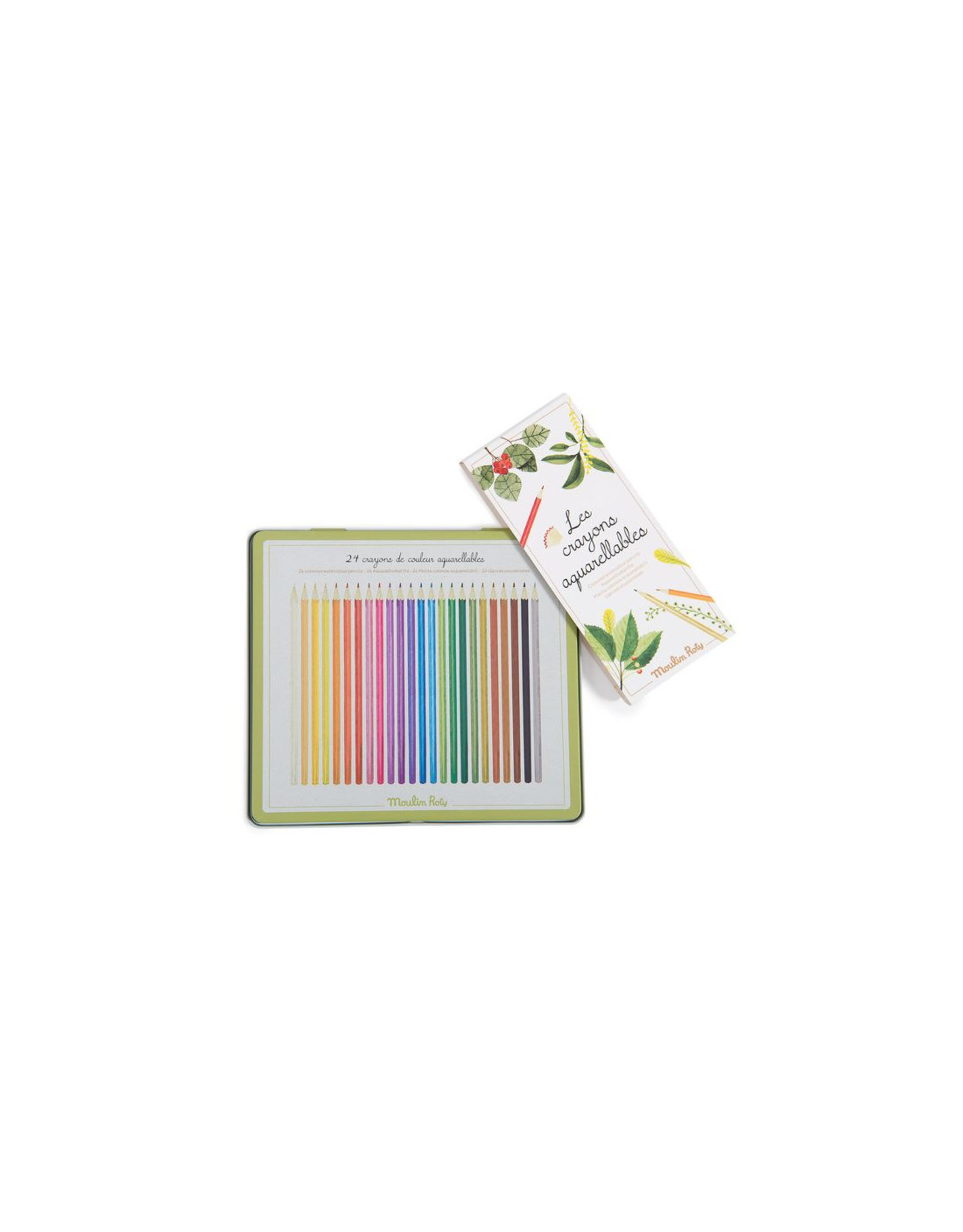 Moulin Roty Coloured watercolour pencils