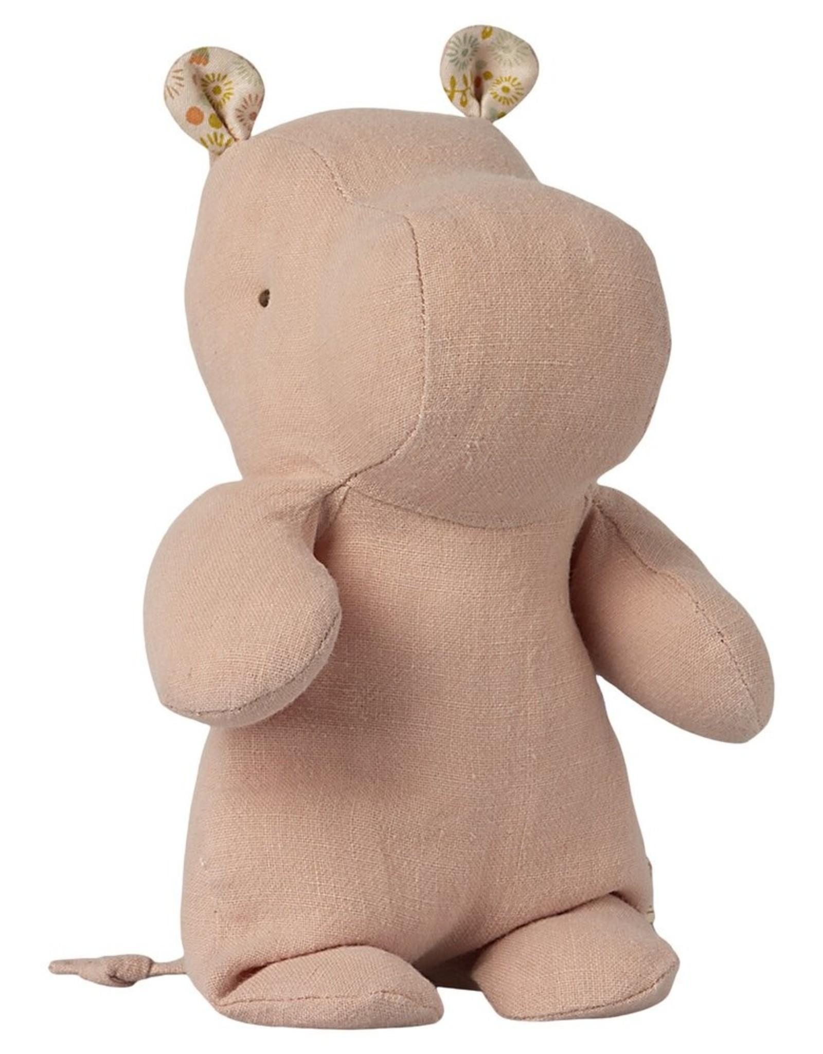 Maileg Petit Hippopotame rose