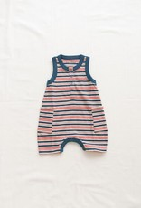 Fin & Vince Short Jumpsuit - Americana stripe