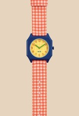 Mini Kyomo   x Tinycottons Vichy Red Watch