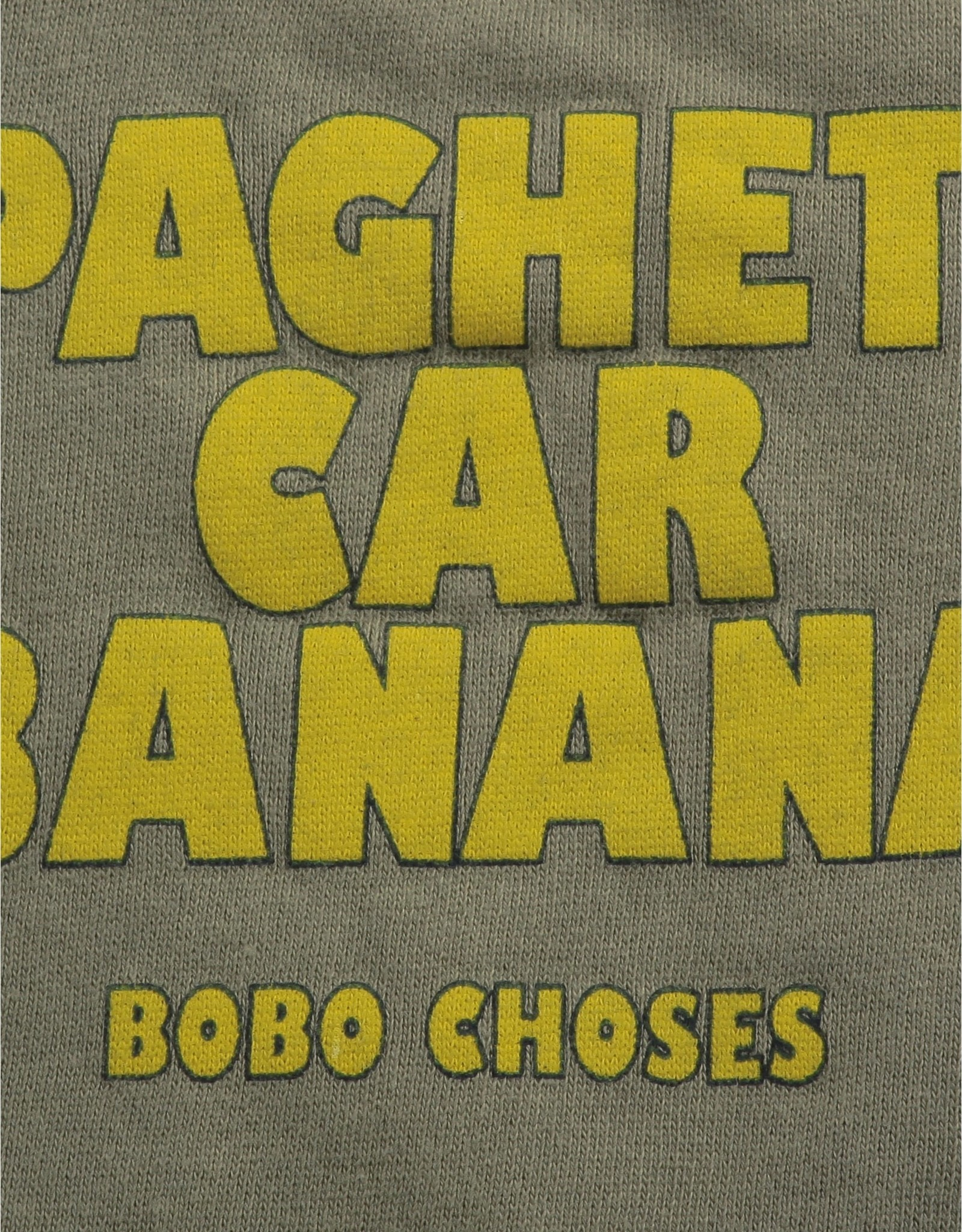 Bobo Choses Chandail pour bébé Spaghetti Car Banana