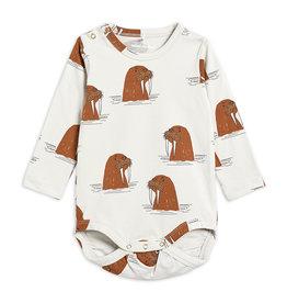 Mini Rodini Walrus Long Sleeve Body