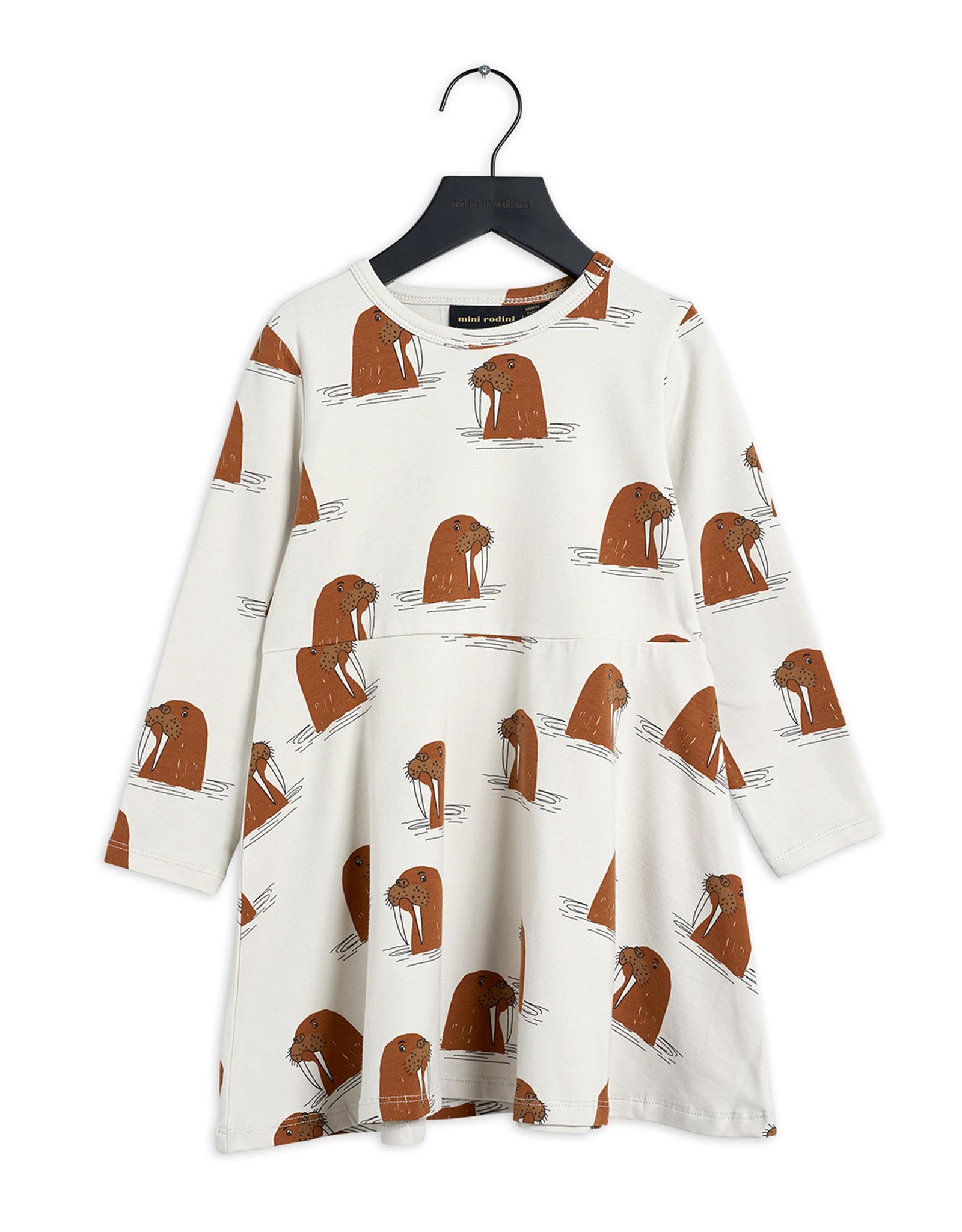 Mini Rodini Walrus Long Sleeve Dress