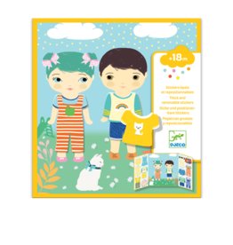 Djeco Removable stickers  - Clothes