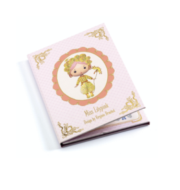 Djeco Miss Lilyruby Repositionable stickers