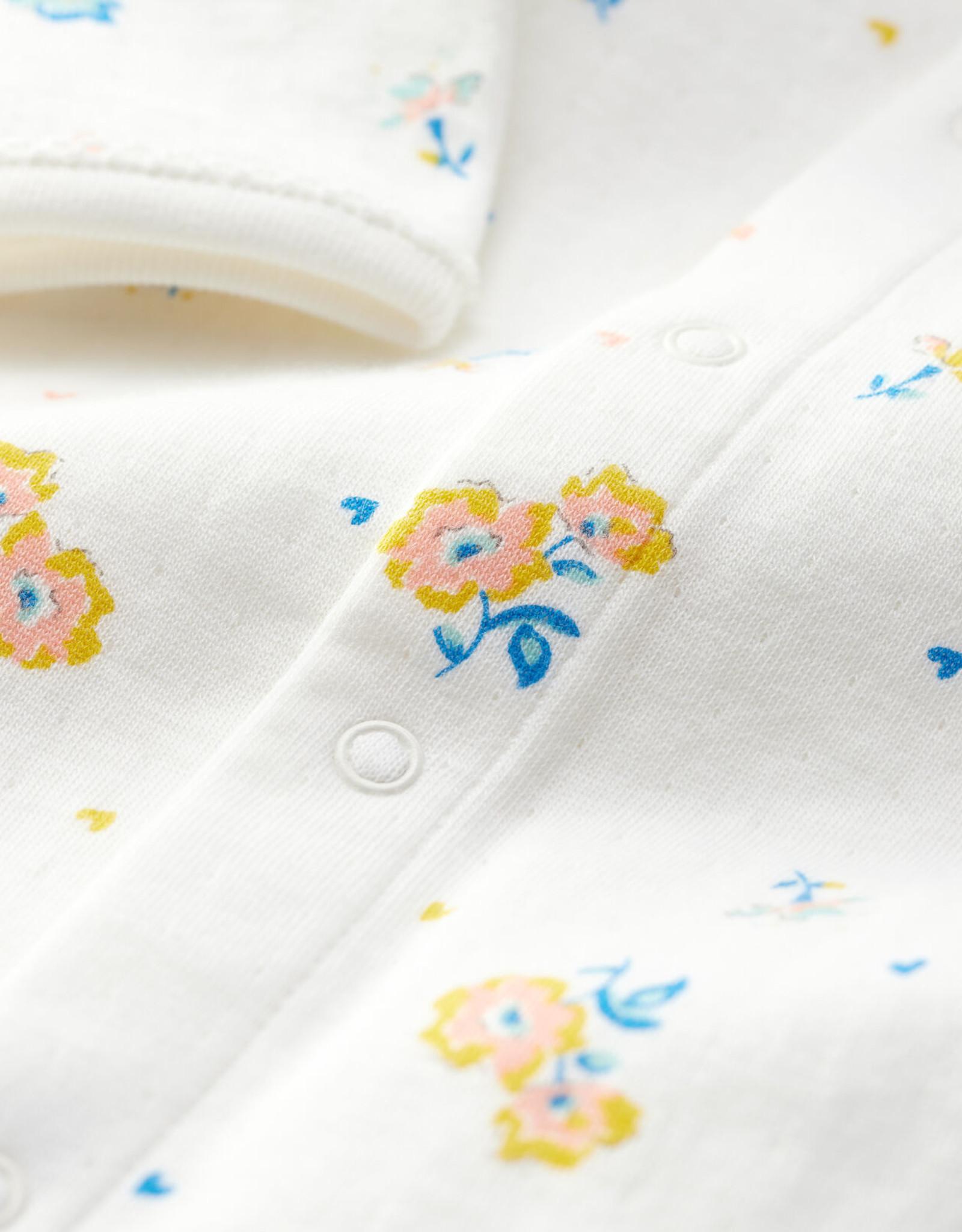 Petit Bateau Pajamas, floral print