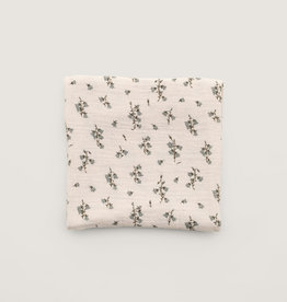 Garbo and friends Muslin Swaddle Bluebell Blanket