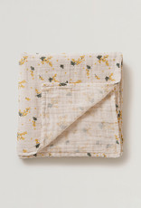 Garbo and friends Muslin Swaddle Mimosa Blanket