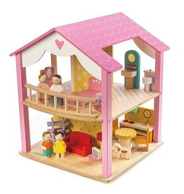 Tender leaf toys Maison Feuille Rose