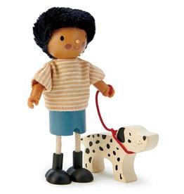 Tender leaf toys Monsieur Forrester et son chien