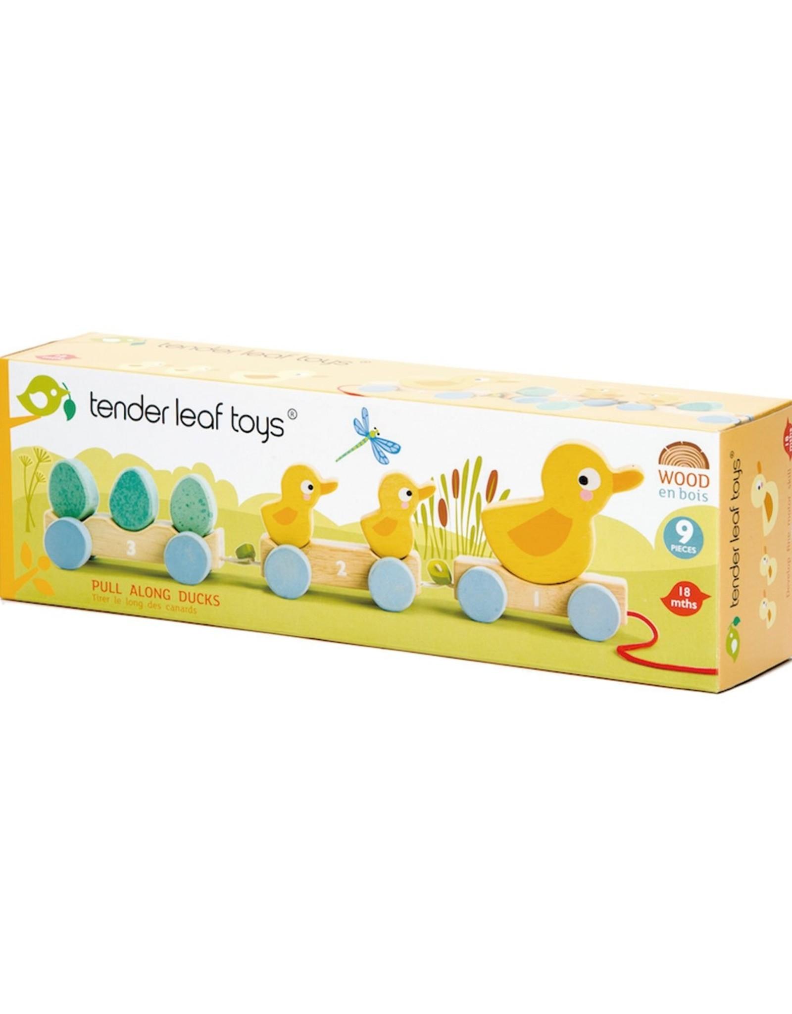 Tender leaf toys Pull Along Ducks