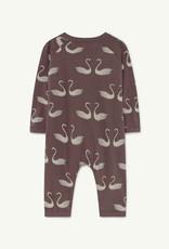 The Animal Observatory Swans Owl Baby Pyjama