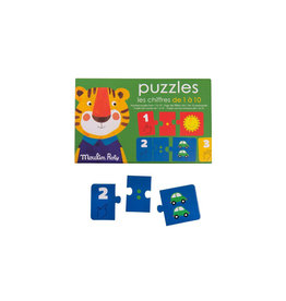 Moulin Roty Numbers Puzzle