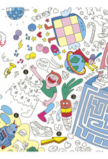 OMY Plateau de jeux géant à colorier