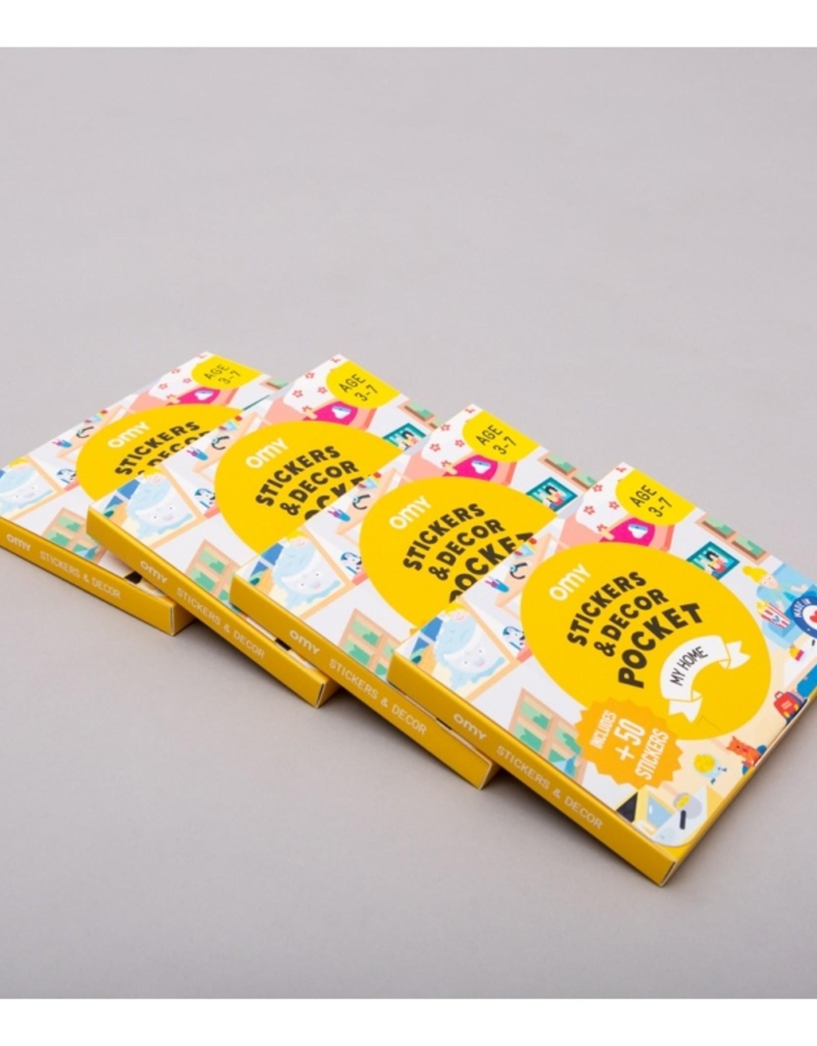 OMY Stickers & Decor Pocket My Home
