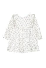 Dress, semi floral print