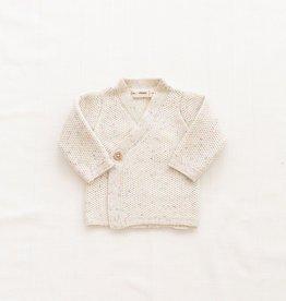 Fin & Vince Cardigan Confetti croisé en tricot