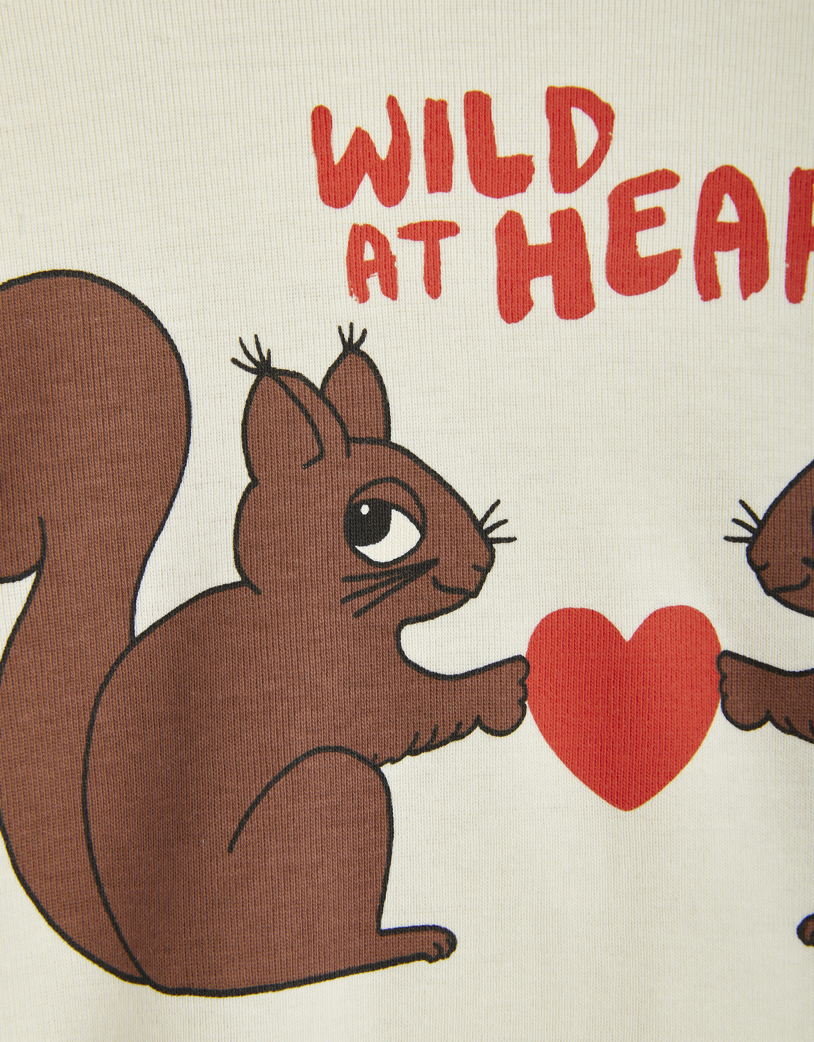 Mini Rodini Wild at heart T-shirt