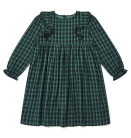 Bonton Robe pour fille à carreaux surteints Daya